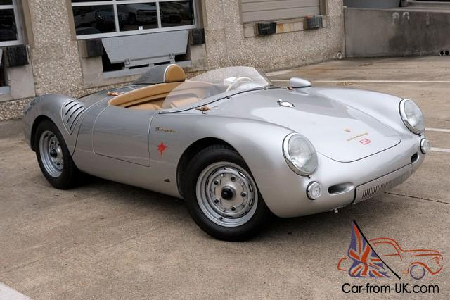 by: 1956 Porsche 550 Spyder Reproduction