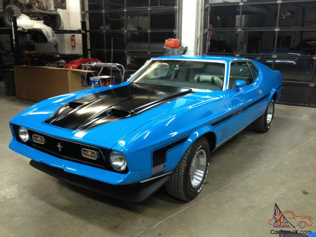 1971 ford mustang mach i fastback 2 door 5 8l