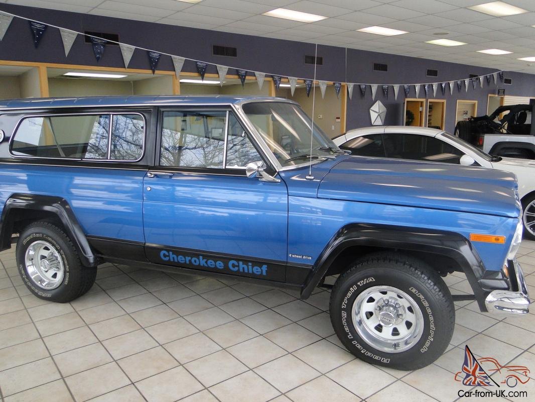 Jeep cherokee chief for sale australia