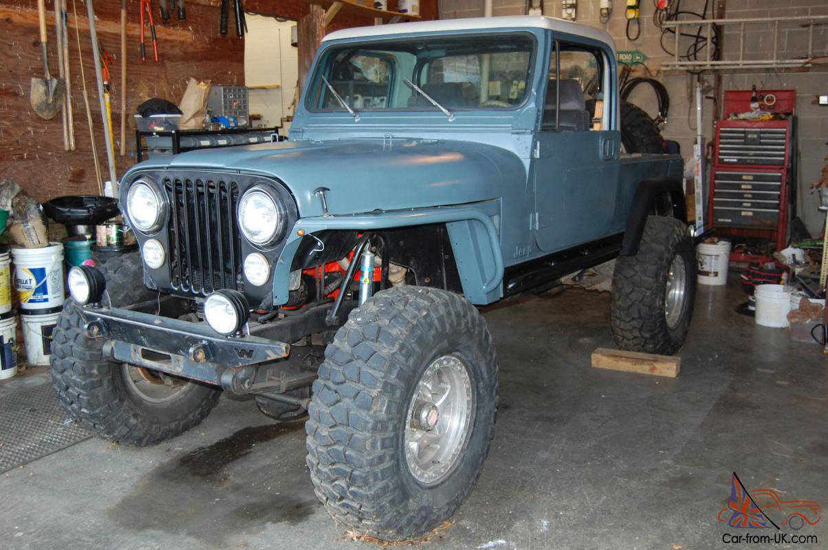 1981 Jeep Cj8 Scrambler Rare 4x4 Project Wiring Harness