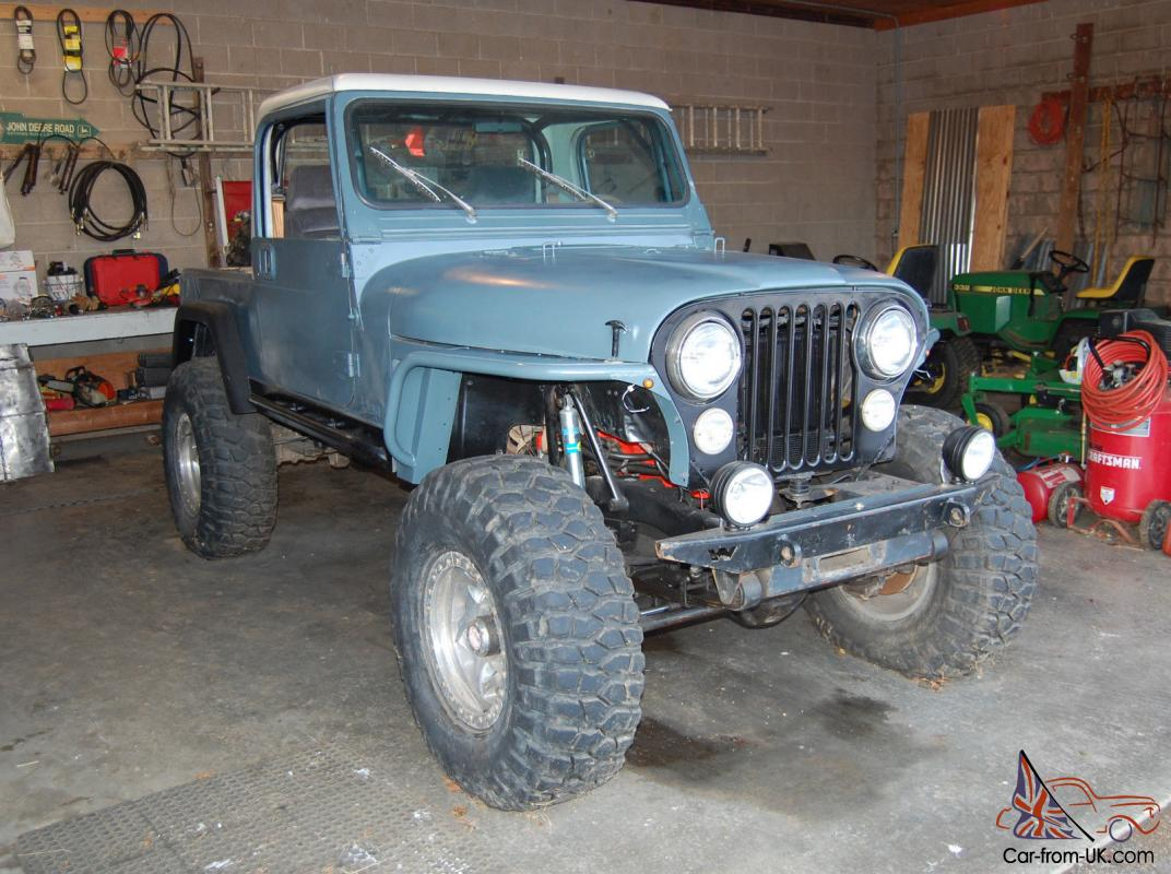 1981 jeep cj8 scrambler rare 4x4 project. Black Bedroom Furniture Sets. Home Design Ideas