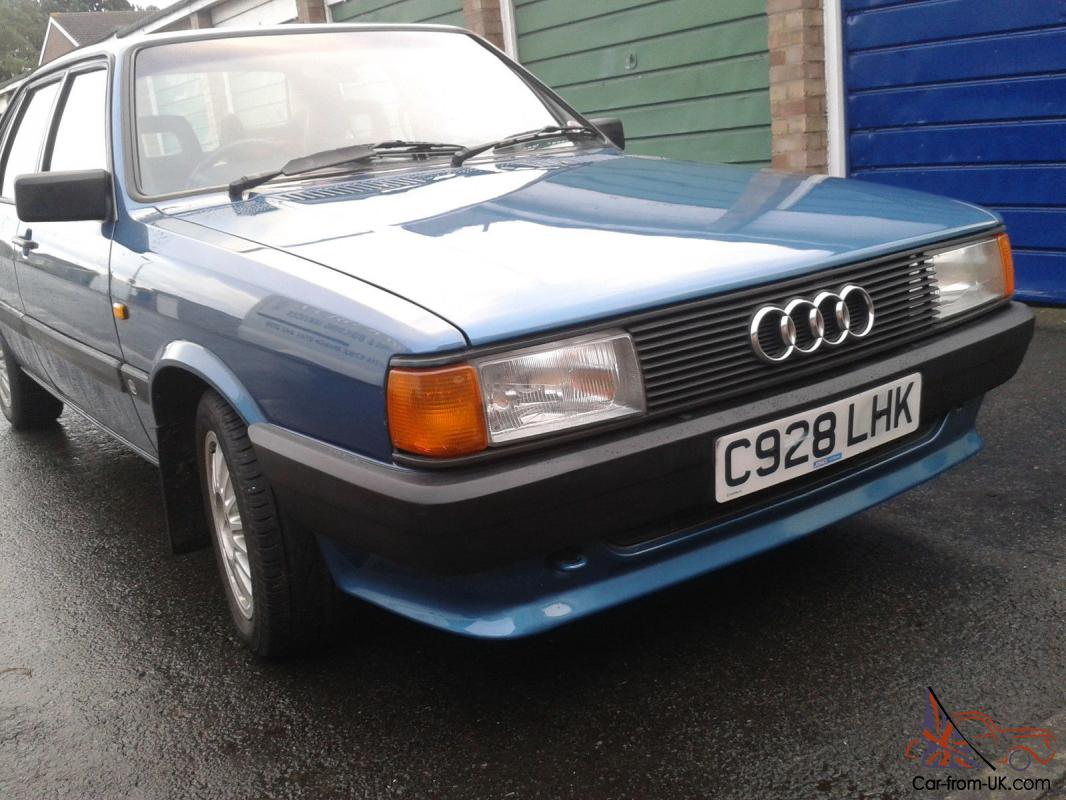 audi 80 b2 sport excellent original condition and very rare. Black Bedroom Furniture Sets. Home Design Ideas