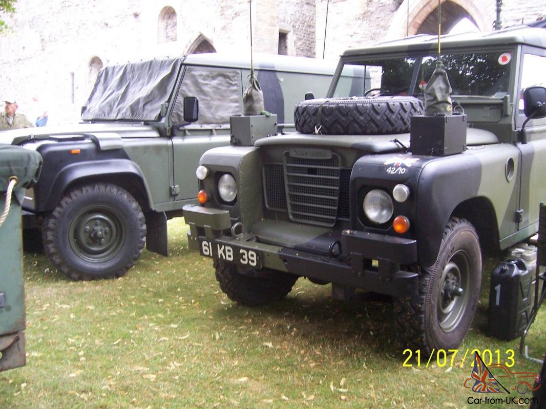 Ex Army Military Landrover series 3 FFR FULLY EQUIPED OPERATIONAL