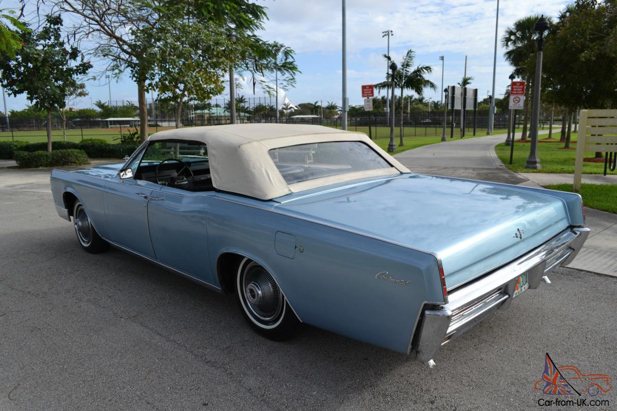 1966 lincoln continental convertible collector quality. Black Bedroom Furniture Sets. Home Design Ideas