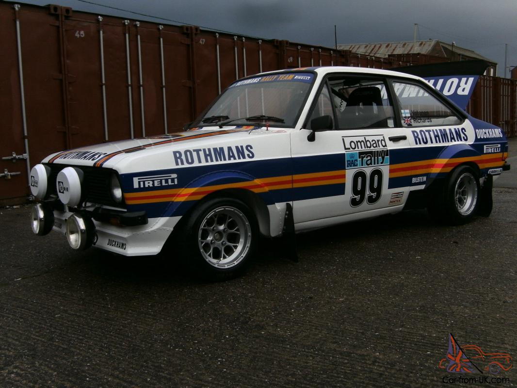 ESCORT MK2 ROTHMANS REPLICA GRP4 RALLY CAR BARGINE