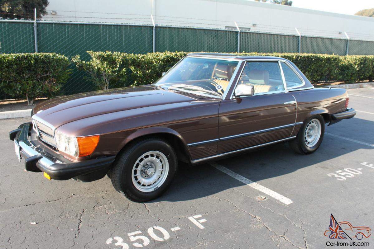 Up for auction is a 1982 Mercedes 380SL that was recently donated to a ...