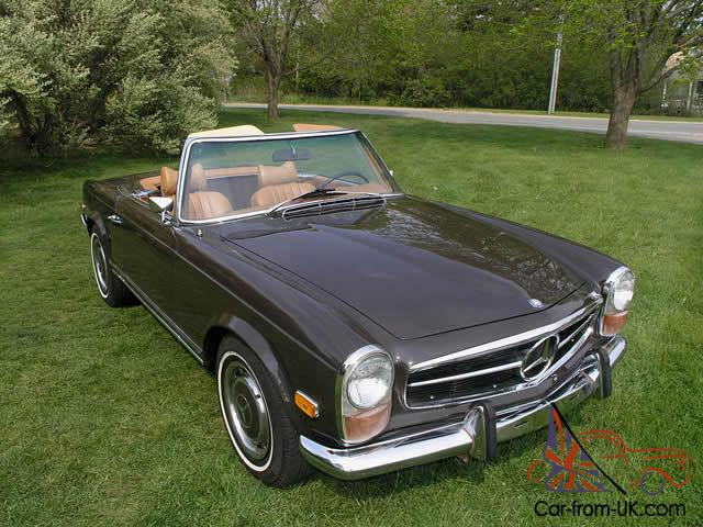1970 mercedes benz sl class 280sl. Black Bedroom Furniture Sets. Home Design Ideas