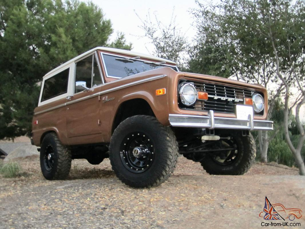 1972 Ford Bronco Sport Edition Classic, Uncut Rust Free, Clean ...
