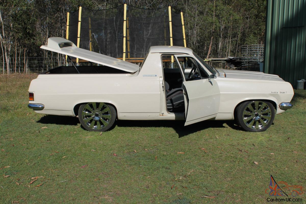 Hr Holden Ute Custom Rat Rod Collectable Supercharged V6