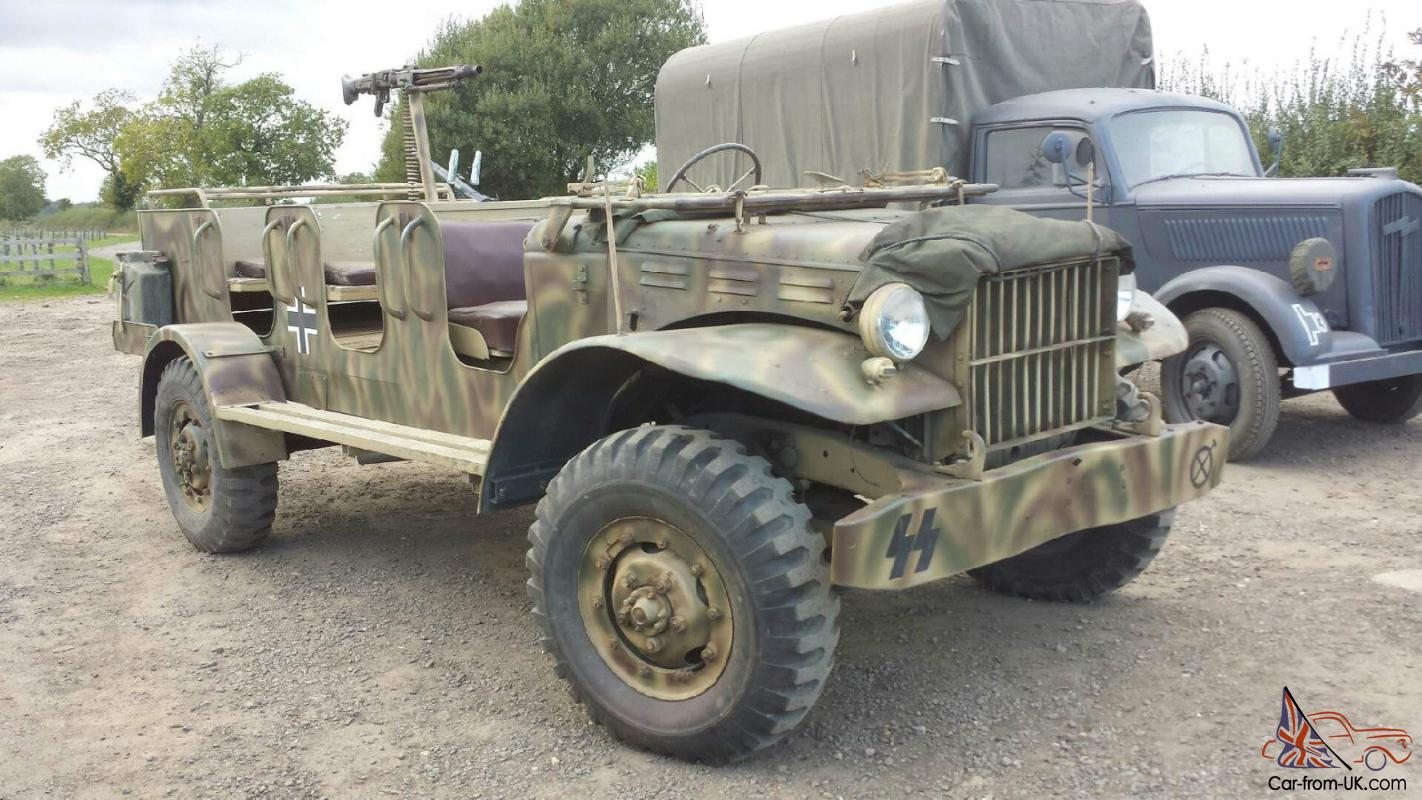 Car Carrier For Sale >> WWII Dodge Weapons Carrier
