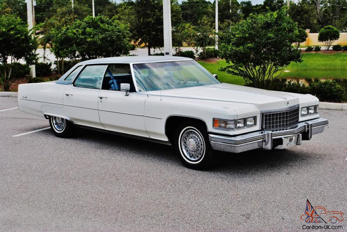 No reserve all original 76 Cadillac Sedan Deville just 50,602 miles