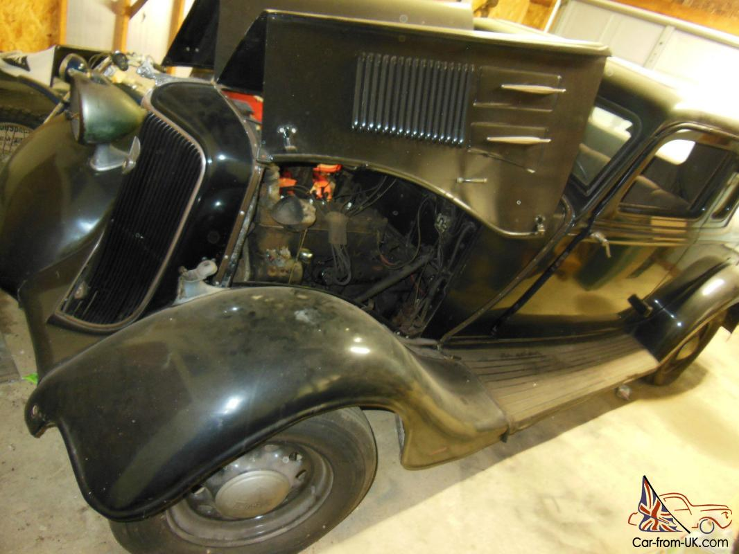 1934 Plymouth Coupe PE delux title classic restore unfinished ...