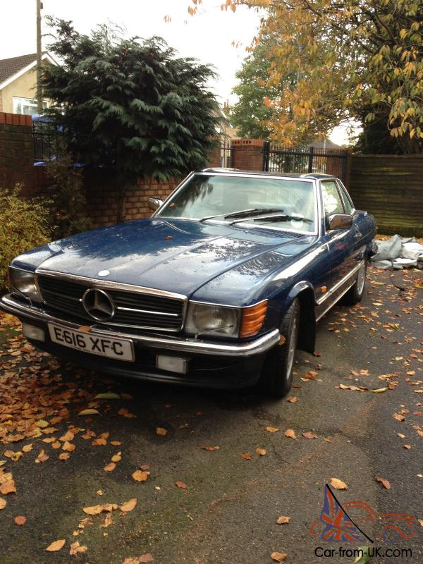 1987 mercedes benz 500sl convertible with hardtop 5 0 for Mercedes benz hardtop convertible for sale