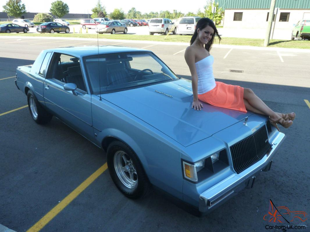 1987 Buick Regal Base Coupe 2 Door 3 8l