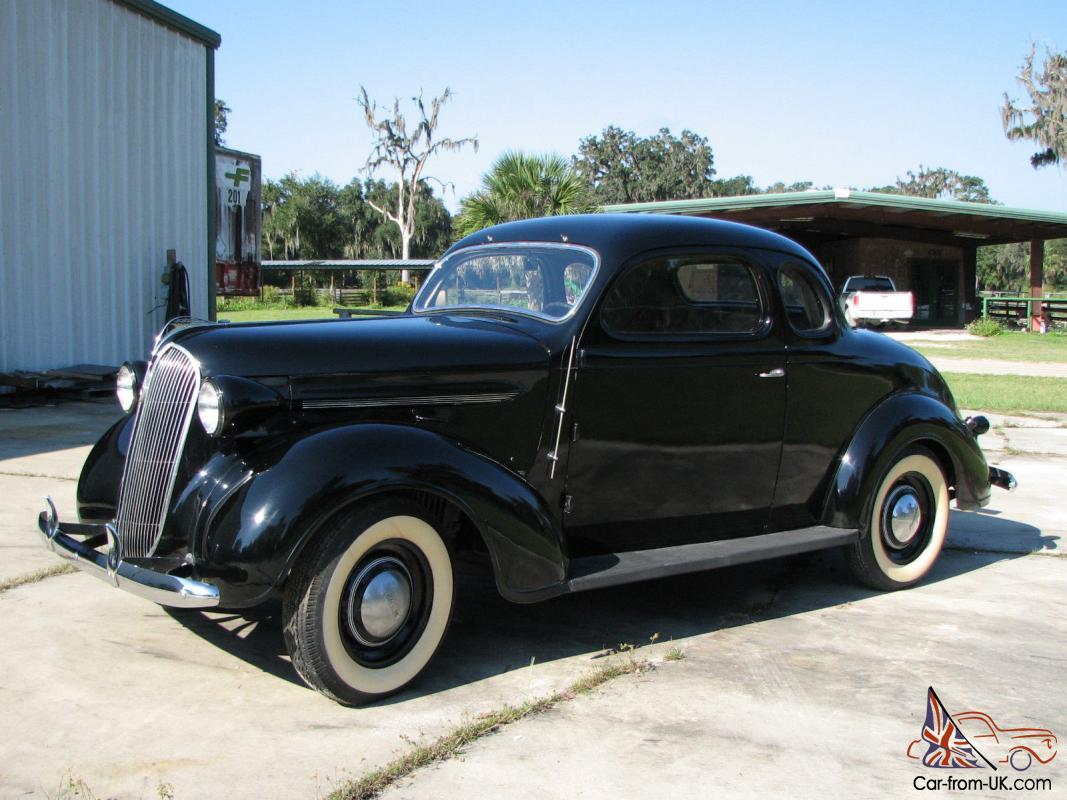 1937 plymouth coupe original rust free pre war classic. Black Bedroom Furniture Sets. Home Design Ideas