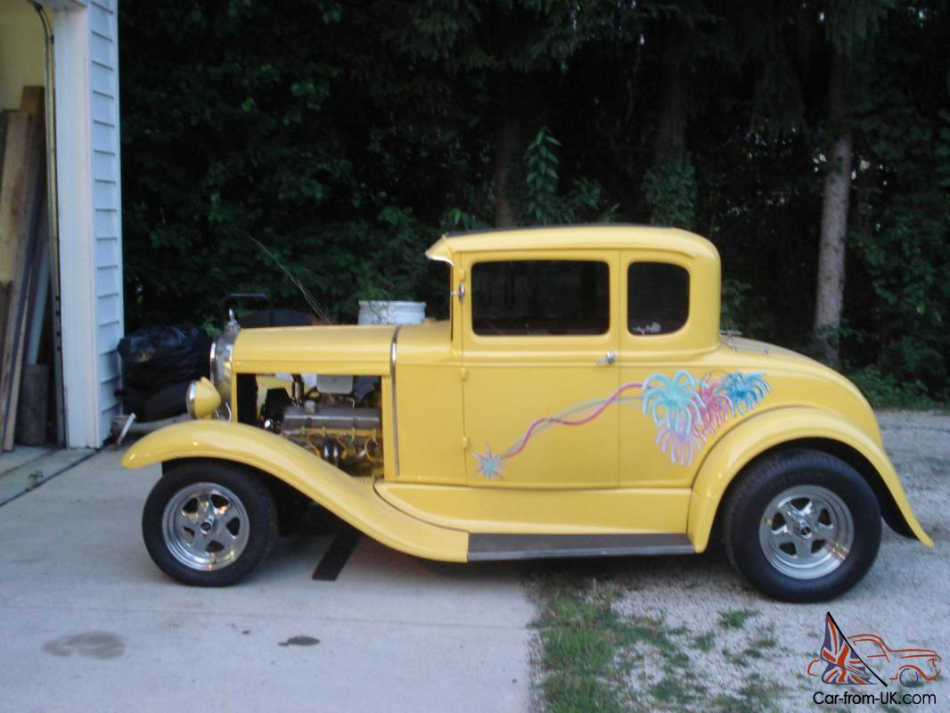 1930 ford model a 5 window coupe street hot rod chevy 350 for 1930 model a 5 window coupe for sale
