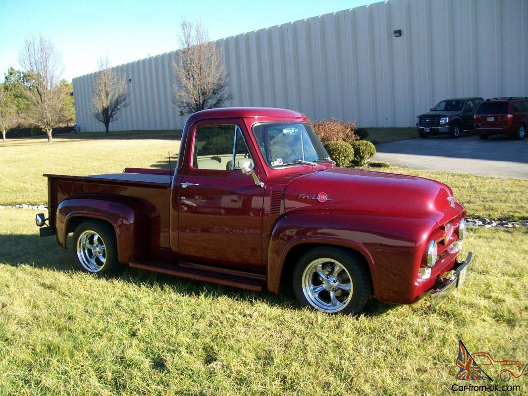 1955 Ford F100 Pro Touring 350 Zz4 Street Rod Paint Colors