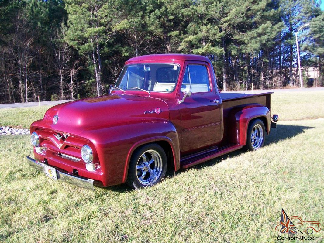 1955 Ford F100 Pro Touring 350 Zz4 Street Rod Pickup Truck For Sale