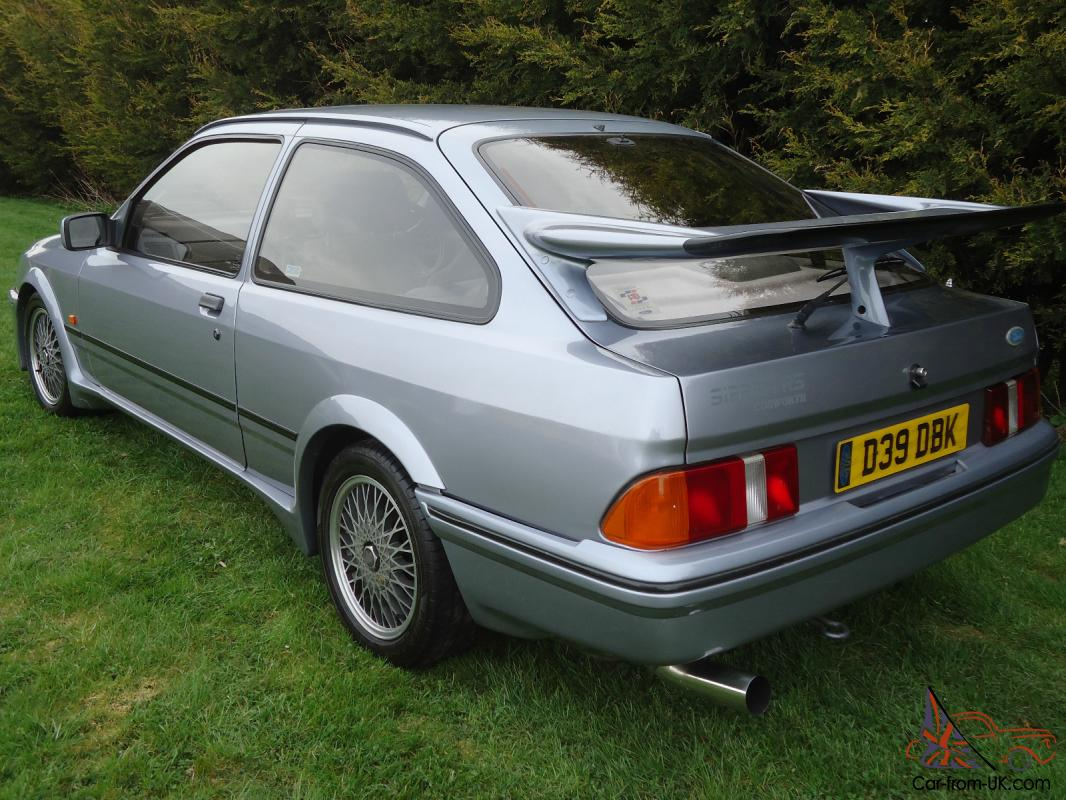 1986 ford sierra rs cosworth moonstone blue full mot. Black Bedroom Furniture Sets. Home Design Ideas