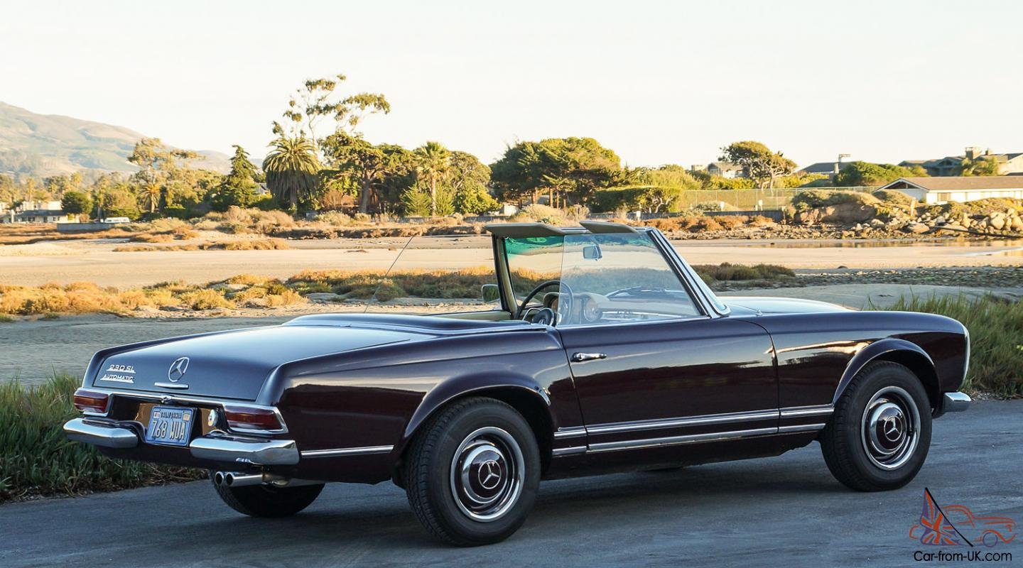 1966 mercedes benz 230sl pagoda stunning numbers for 1966 mercedes benz 230sl