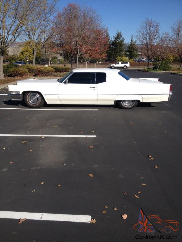 1969 cadillac coupe deville lowered with flowmasters. Black Bedroom Furniture Sets. Home Design Ideas