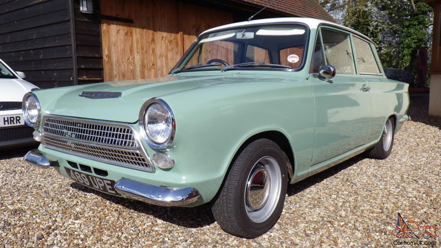 1963 FORD CORTINA MK1 TWO DOOR
