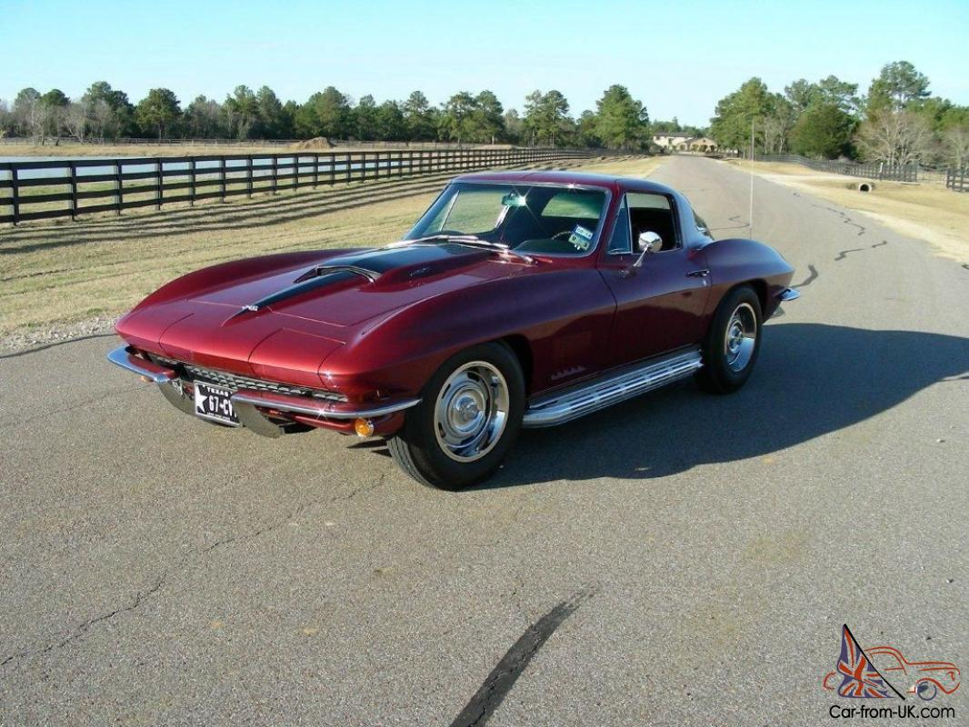 1967 Corvette Coupe 427 CID | Lingenfelter Collection | Corvette ...
