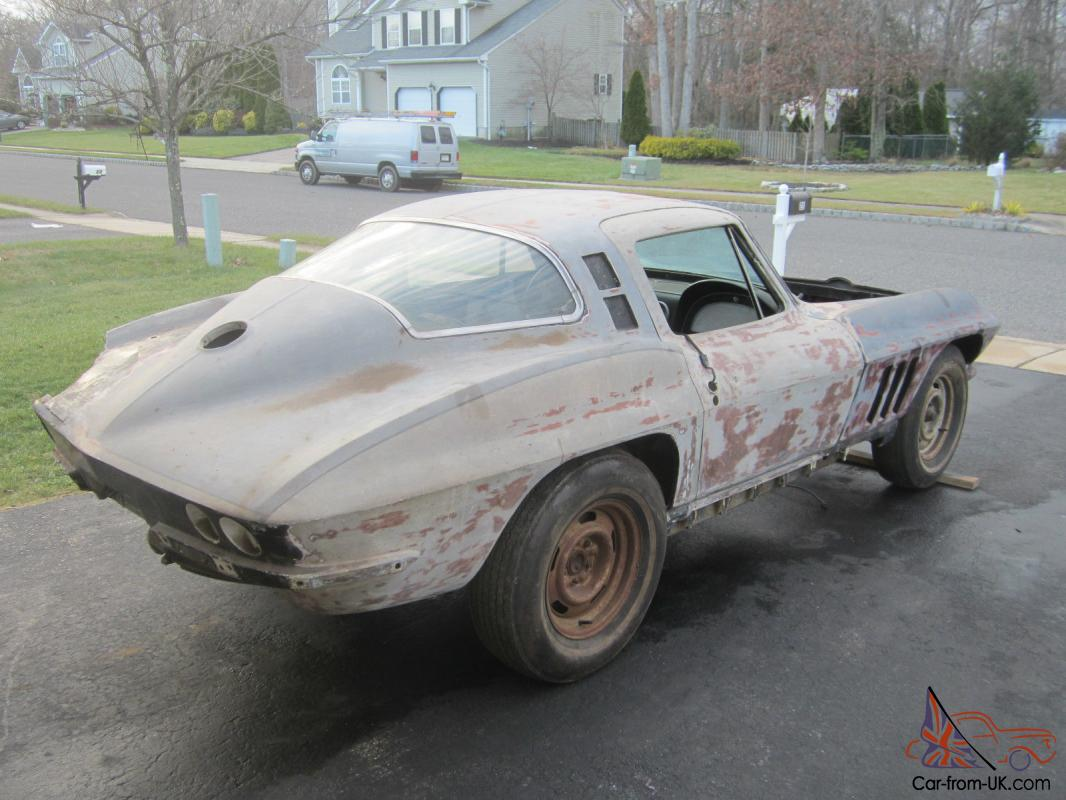 1964 Chevy Corvette Coupe Body Project Car