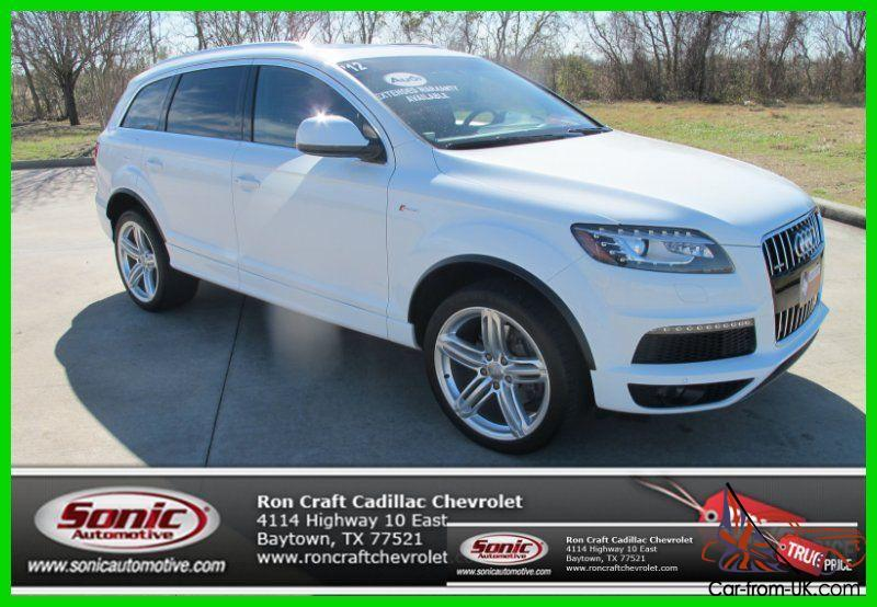 2012 3 0t s line prestige used 3l v6 24v automatic quattro for Ron craft chevrolet baytown tx 77521