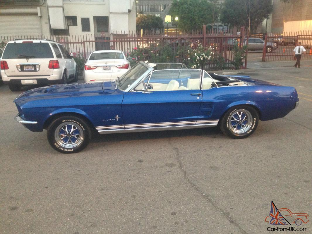 1967 mustang convertible restomod 5 0 5speed must see super nice 65 66 68 69 70. Black Bedroom Furniture Sets. Home Design Ideas
