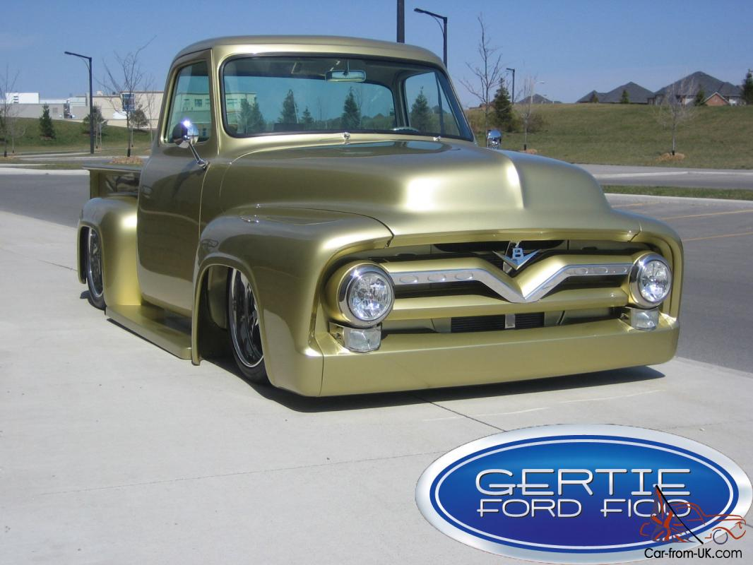 1955 Ford F100 Show Truck Tail