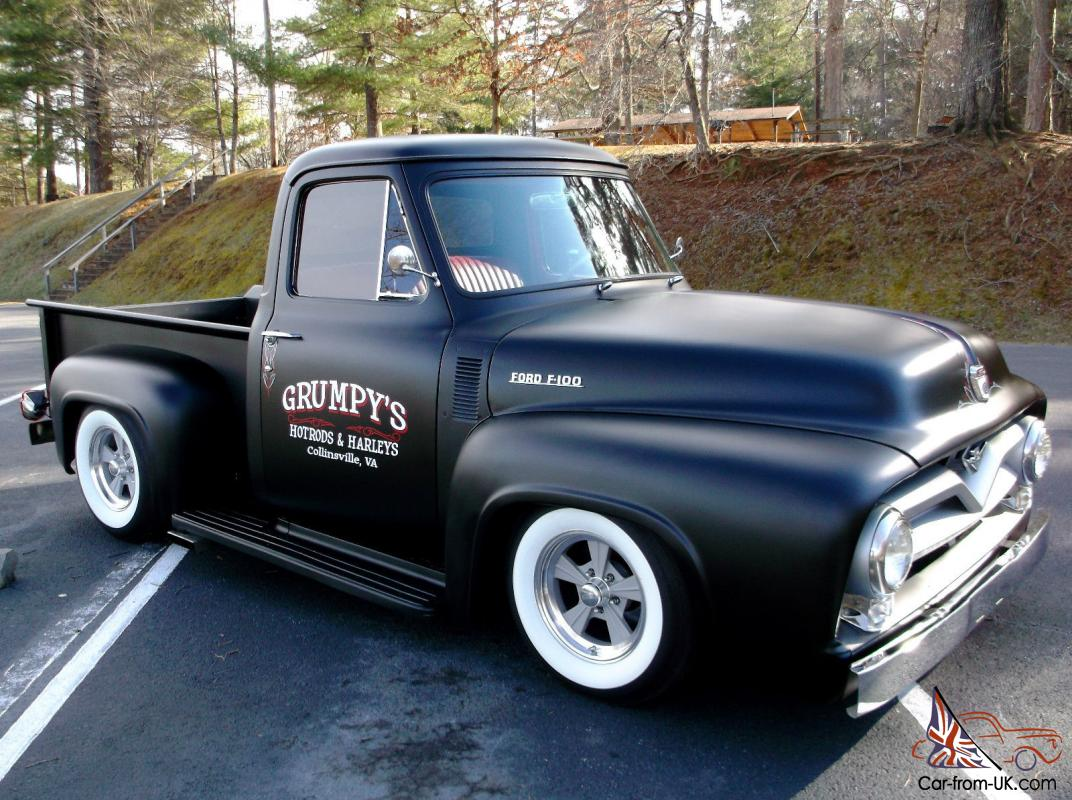 1954 Ford Fioo Custom Street Rod Hot Roddaily Driver Shop Truck Dodge Pickup Wiring Diagram 25k Invested