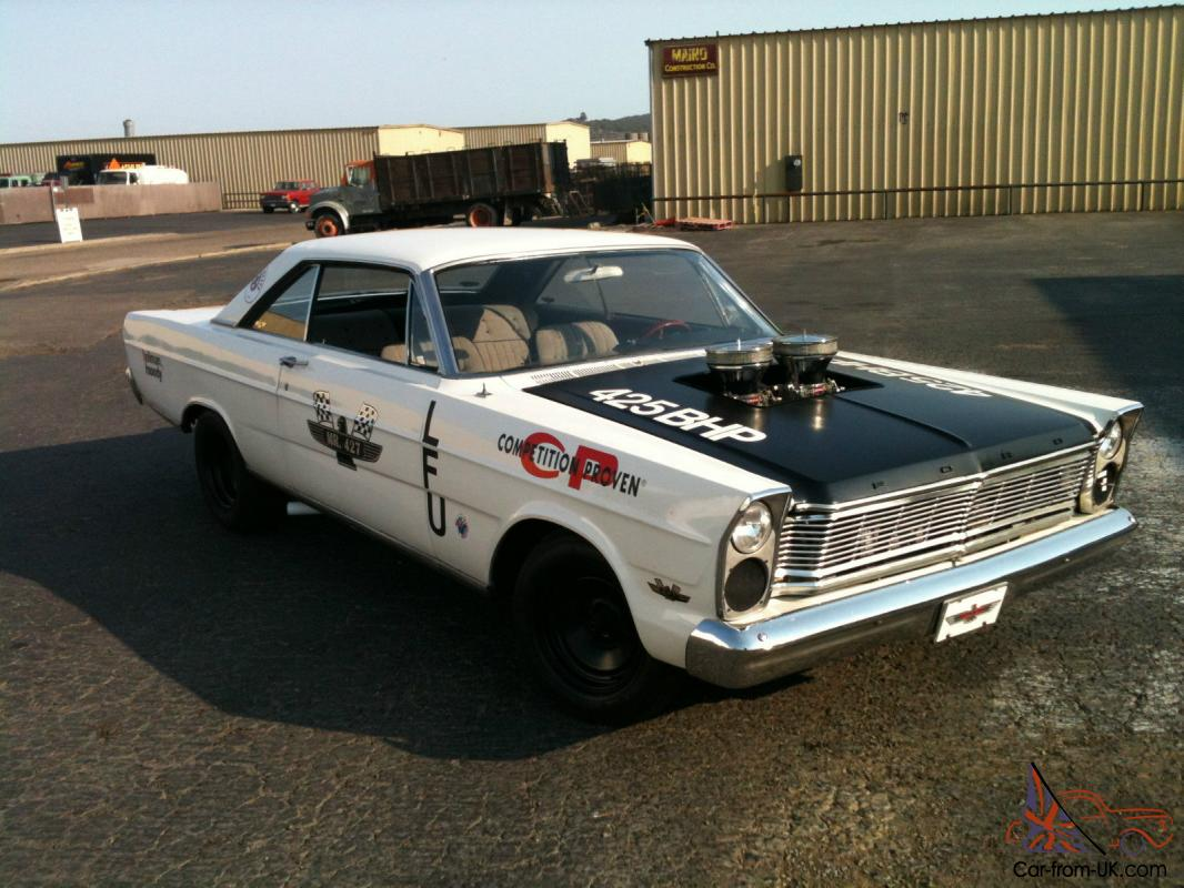 Ford Galaxie vintage street drag car