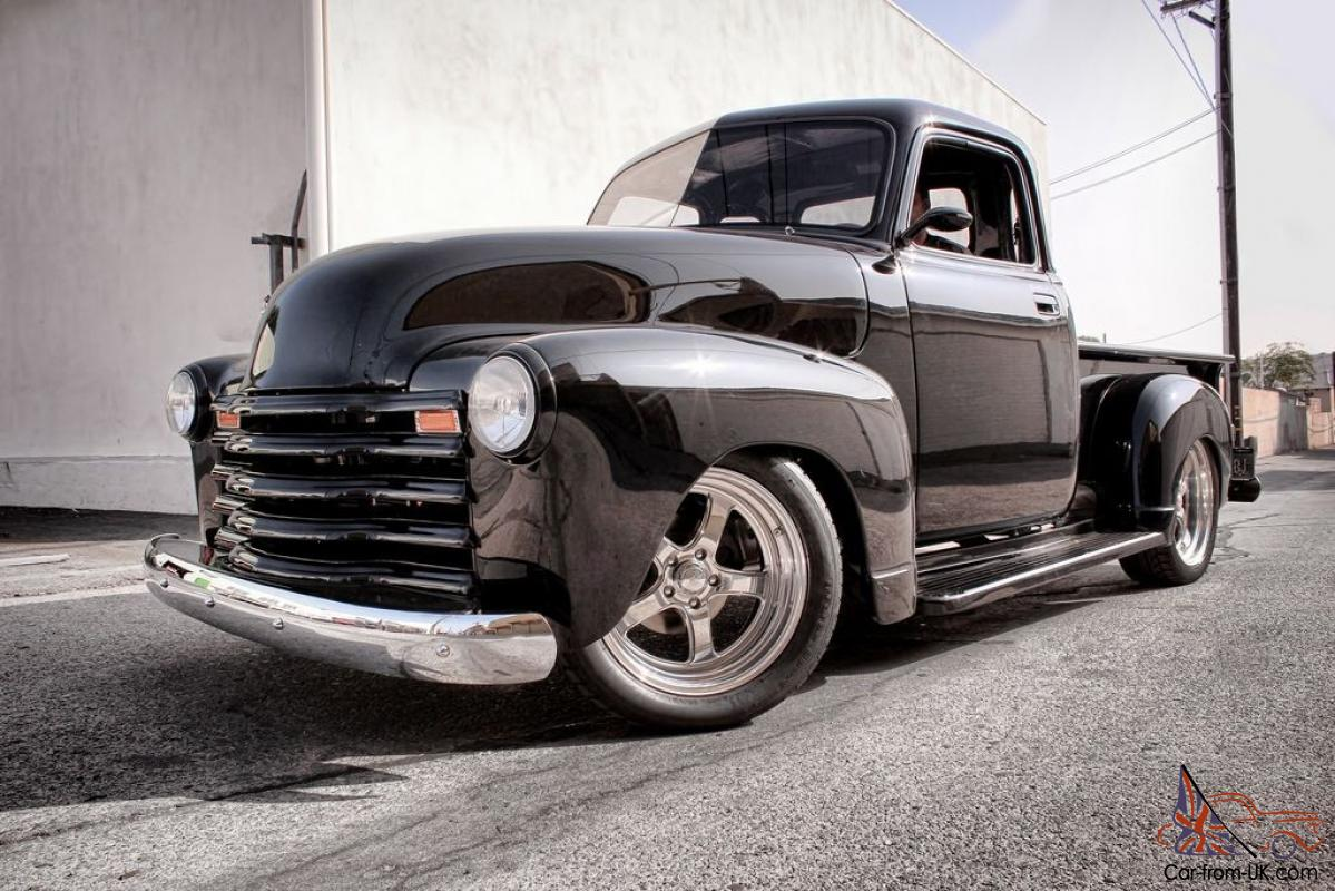1949 chevy pickup black 5 window for 1949 chevy 5 window pickup