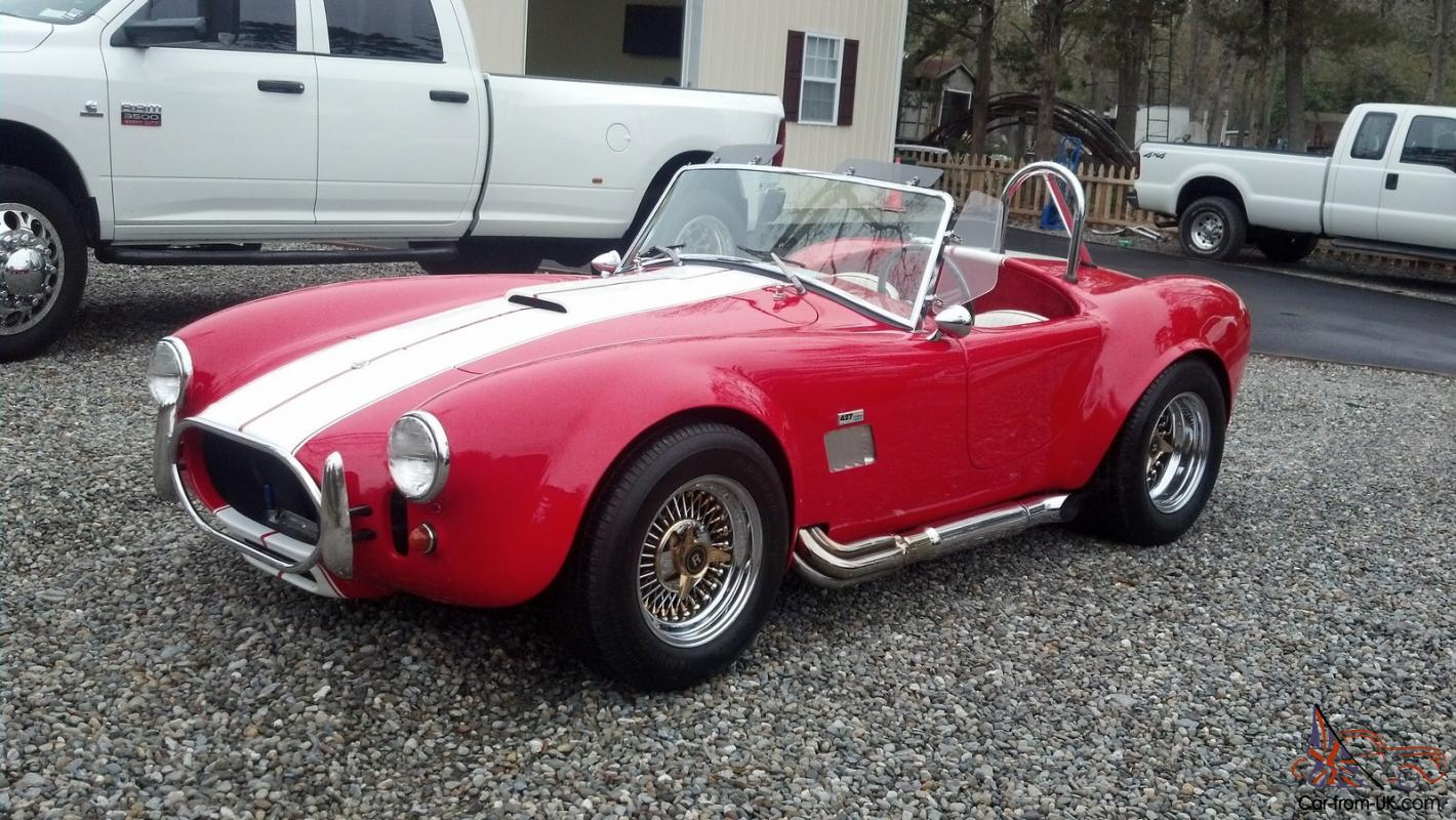1966 ac cobra 427 side oiler fuel injected shell valley kit great shelby clean photo