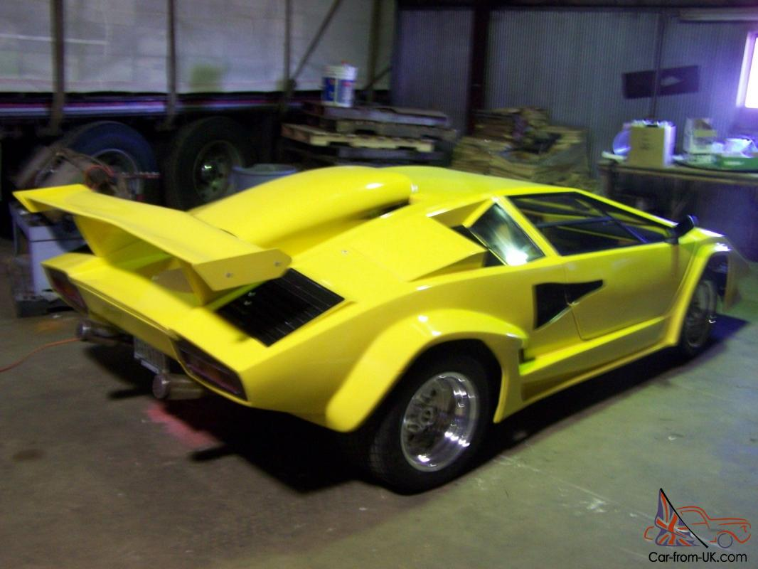 Lamborghini Countach Replica Tube Frame 455 Olds