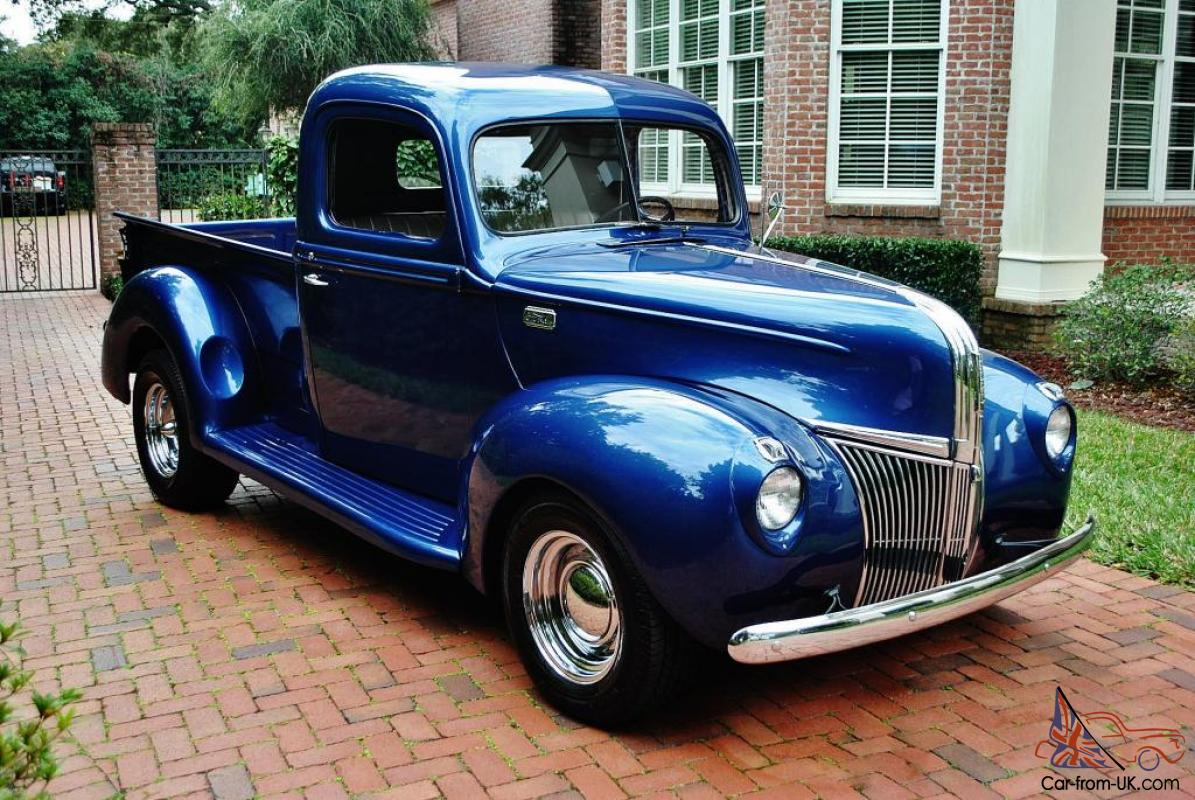 extraordinary 1941 ford pick up outstading fully restored. Black Bedroom Furniture Sets. Home Design Ideas