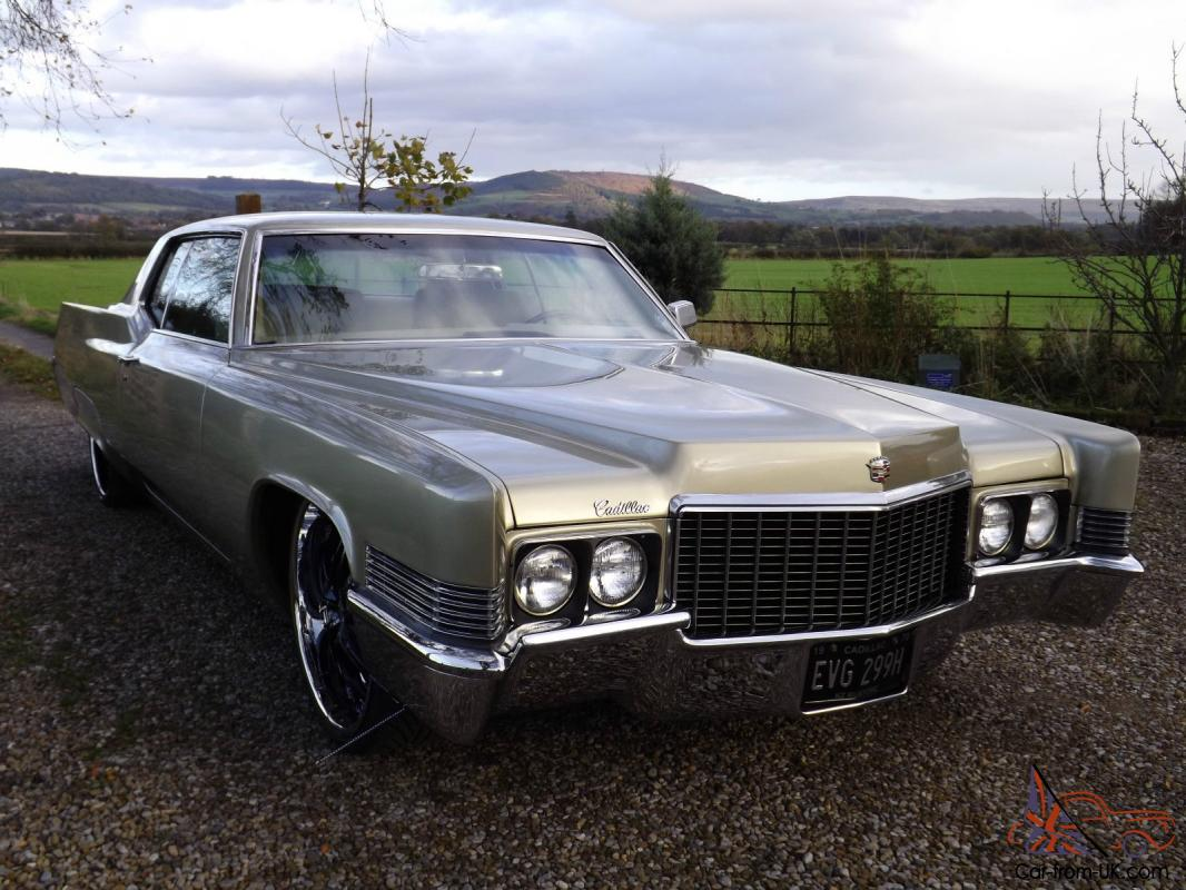 1970 Cadillac Coupe Deville 472 V8 2 Door Pillarless Coupe