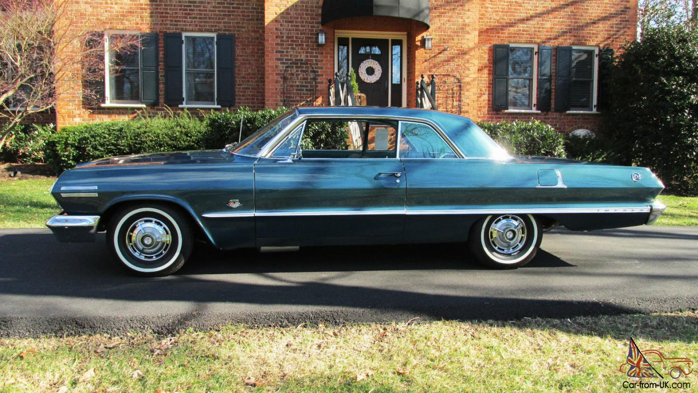1963 impala ss 409 with 425 hp. Black Bedroom Furniture Sets. Home Design Ideas