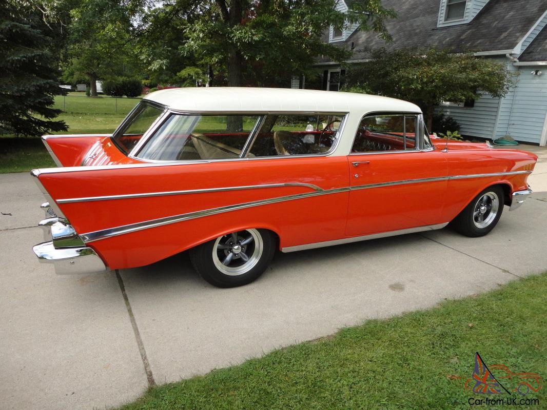 1957 chevrolet chevy nomad bel air 2 door wagon for 1957 chevy two door wagon