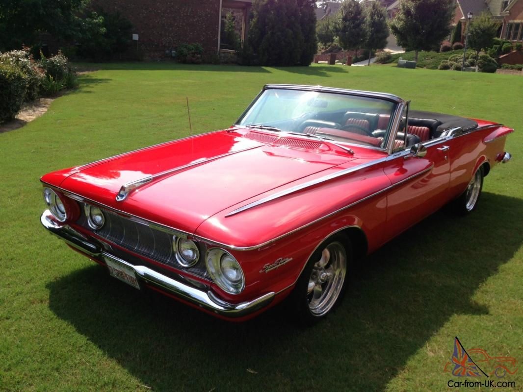 very rare 1962 plymouth sport fury convertible. Black Bedroom Furniture Sets. Home Design Ideas