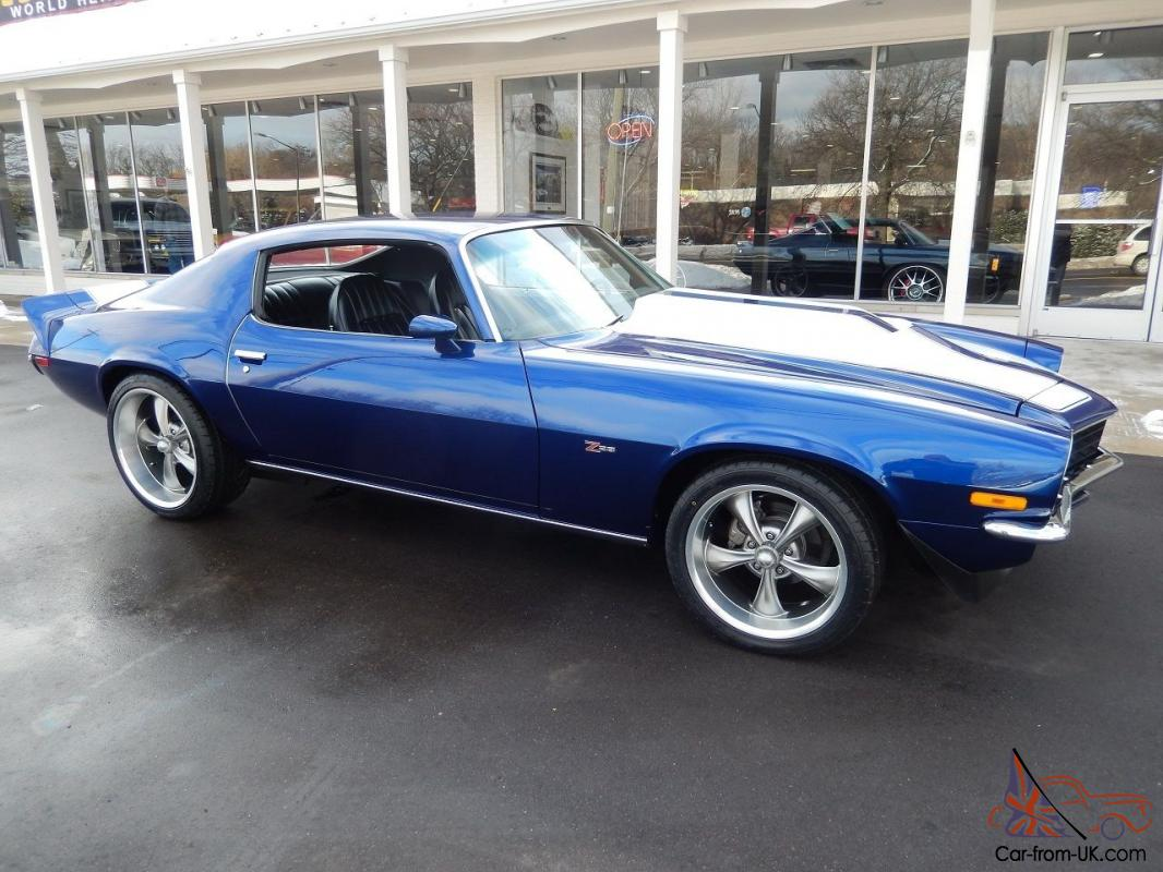 1973 chevrolet camaro z28 - photo #4