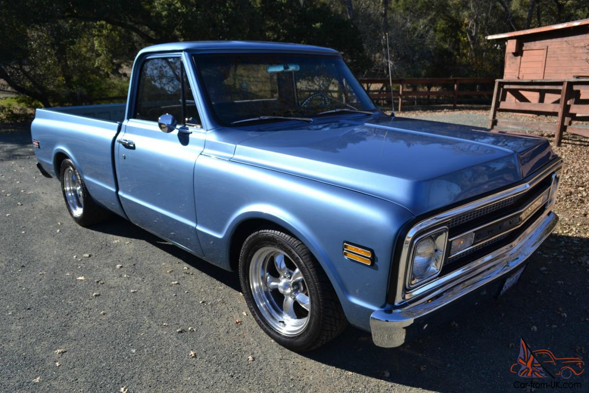 1969 chevy c10 short bed fleetside big window. Black Bedroom Furniture Sets. Home Design Ideas