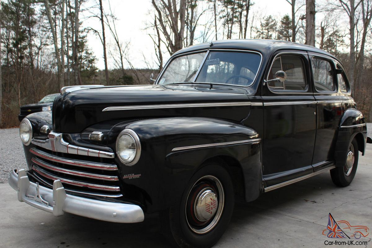 1946 ford super deluxe rebuilt flat head engine for Ford used motors for sale