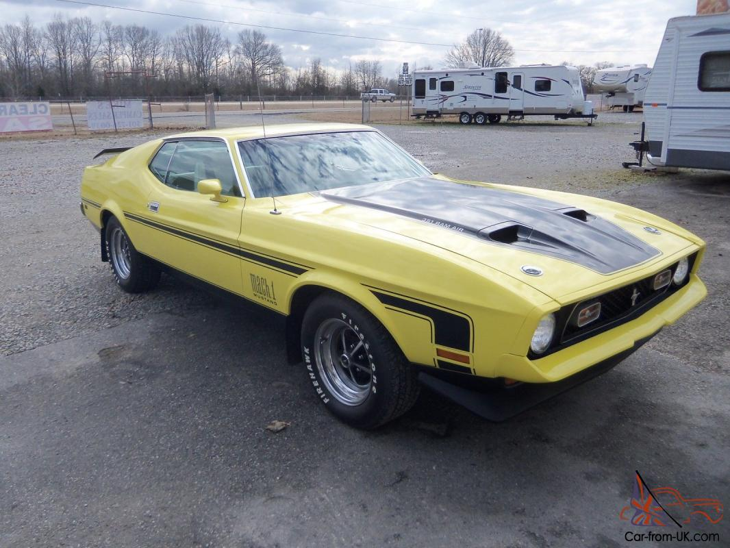1972 mach 1 ford mustang photo
