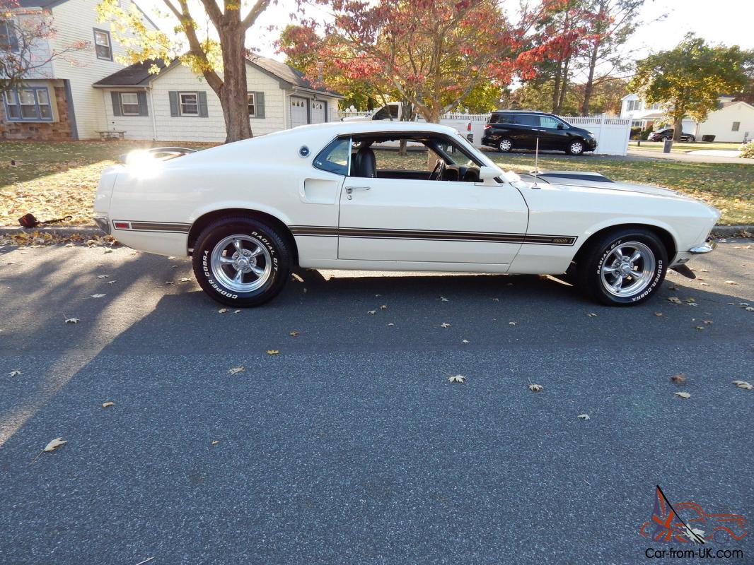 1969 Mustang Fastback Mach 1 Mach1 Clone Clic Muscle Car Fast And Furious