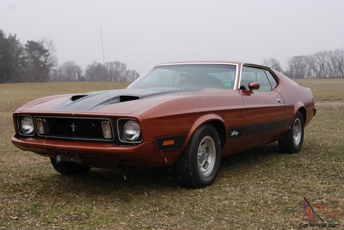 1973 ford mustang mach 1 2nd owner 79k original miles. Black Bedroom Furniture Sets. Home Design Ideas