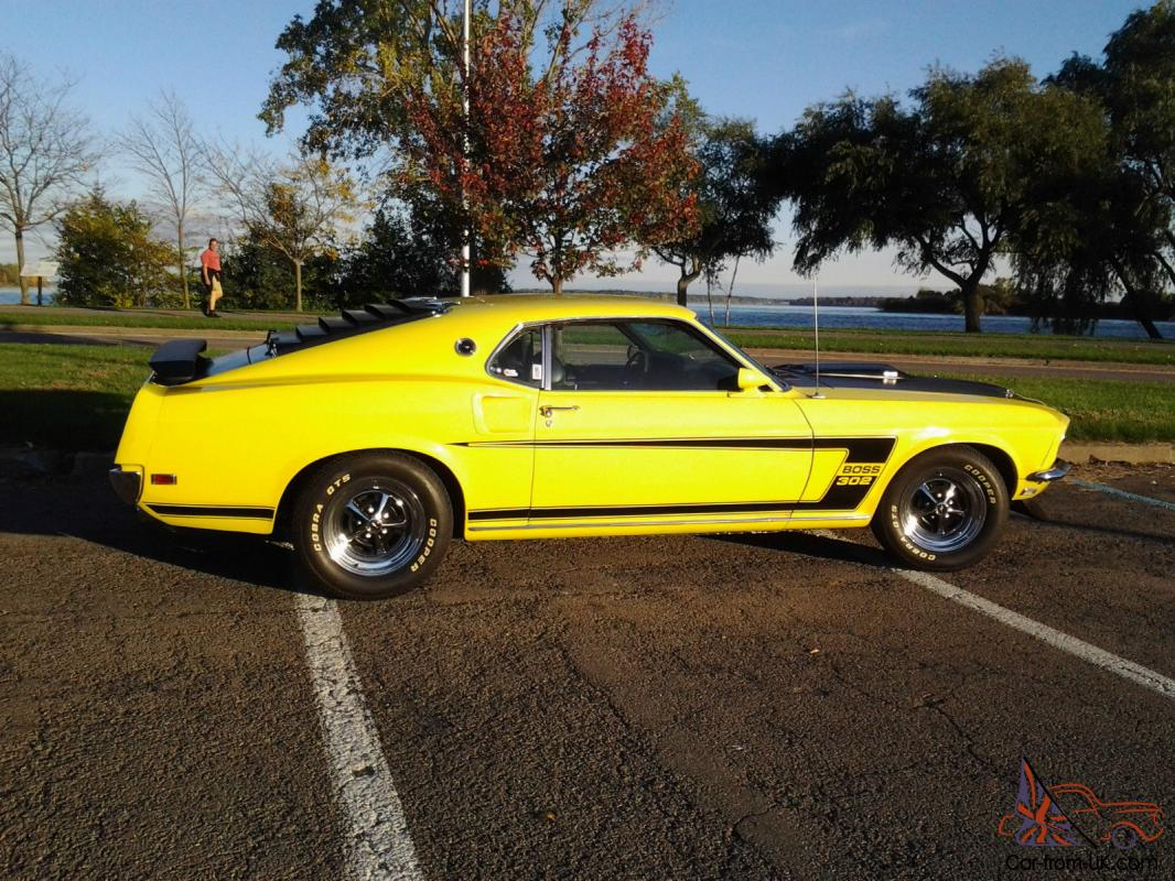 1969 mustang boss 302 tribute car. Black Bedroom Furniture Sets. Home Design Ideas
