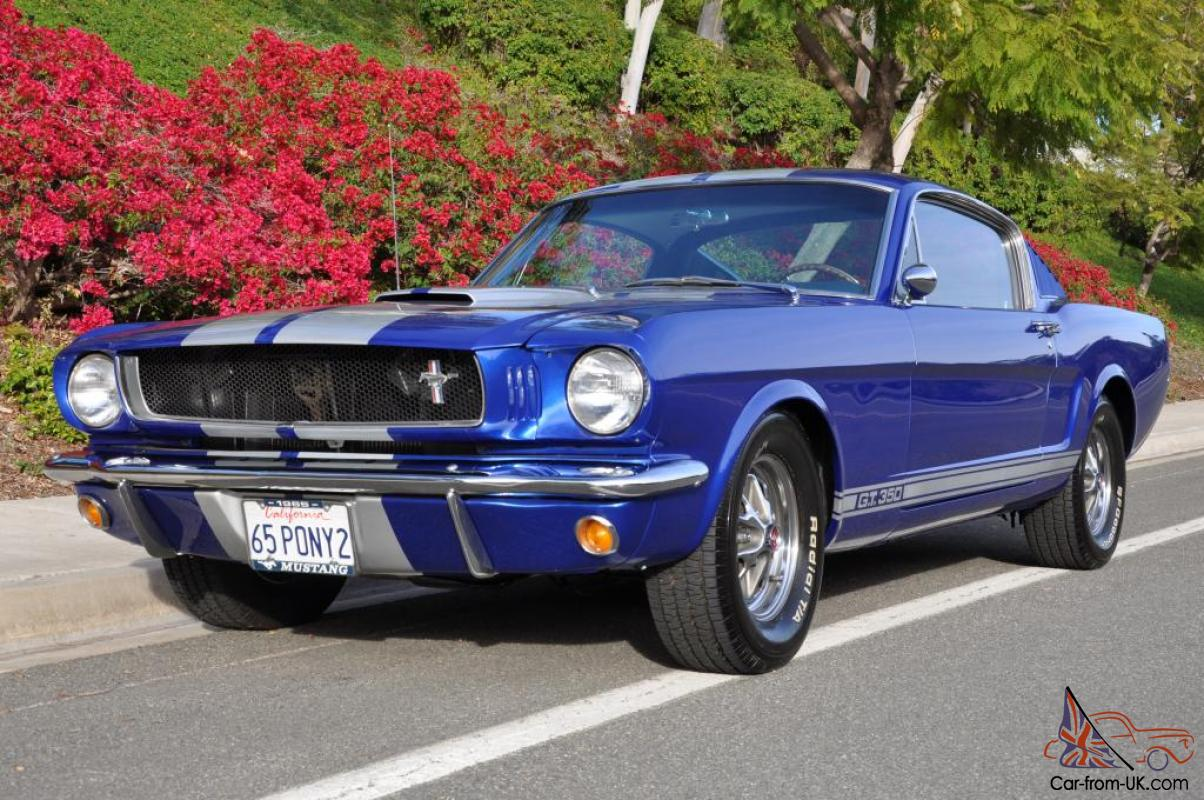 1965 ford mustang base 4 7l gt 350 tribute photo