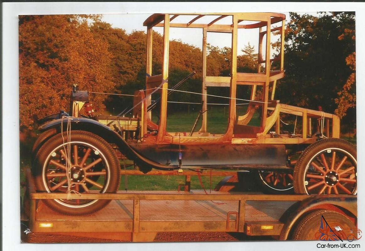 1918 Model T Ford Highboy Coupe